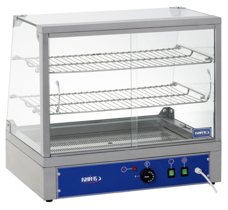 Настольные витрины ВТ-П-660.Раздвижные шторки обеспечивают быстрый и удобный доступ к продуктам.
