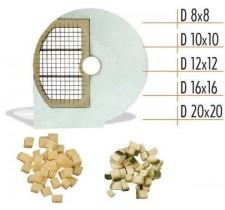 Диск для овощерезки Celme D 10x10 SX, кубик 10х10 мм.
