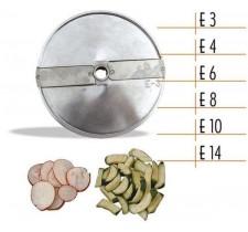 Диск для овощерезки Celme E4 AK, ломтики 4 мм