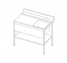 Стол для посудомоечной машины Стил 6567-32